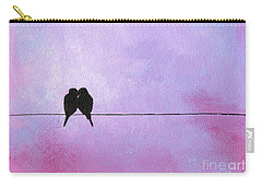 Silhouette Birds Carry-all Pouch