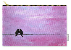 Silhouette Birds Two Carry-all Pouch