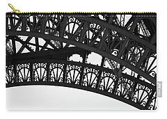 Silhouette - Paris, France Carry-all Pouch by Melanie Alexandra Price