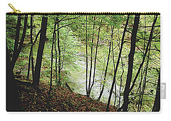 Silhouetted Trees Carry-all Pouch