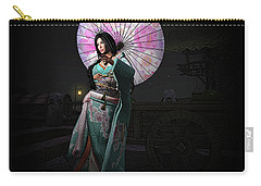Silks And Parasols 1 Carry-all Pouch
