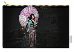 Silks And Parasols 2 Carry-all Pouch