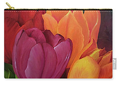 Silky Tulips Unite  Carry-all Pouch