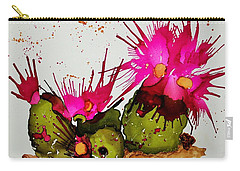 Silly Cactus Carry-all Pouch