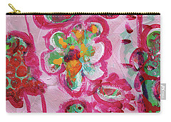 Silly Flowers Carry-all Pouch