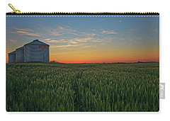 Silos At Sunset Carry-all Pouch