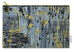 Silver And Gold  Carry-all Pouch by Cathy Beharriell