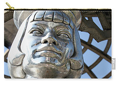 Silver Anna May Wong Carry-all Pouch
