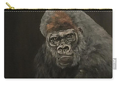 Silver Backed Gorilla Carry-all Pouch