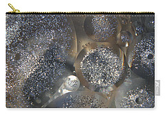 Silver Circles Carry-all Pouch
