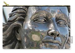 Silver Delores Del Rio Carry-all Pouch