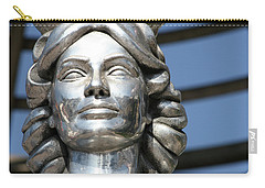 Silver Dorothy Dandridge Carry-all Pouch