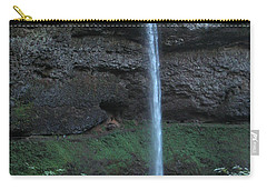 Carry-all Pouch featuring the photograph Silver Falls by Thomas J Herring