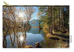 Silver Lake In The Sierras Carry-all Pouch
