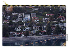 Silver Lake Reservoir And Hollywood Hills Carry-all Pouch