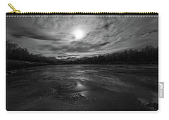 Carry-all Pouch featuring the photograph Silver Midnight by Alex Lapidus