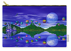 Silver Palace Carry-all Pouch by Mark Blauhoefer