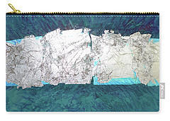 Silver Rocks Carry-all Pouch by Joan Hartenstein