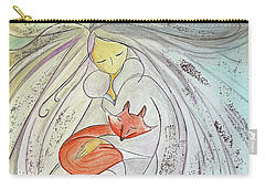 Silver Threads Carry-all Pouch by Gioia Albano