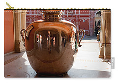 Silver Water Urn Jaipur Carry-all Pouch by Ashish Agarwal