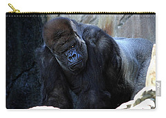 Silverback Kibabu Rules His Kingdom Carry-all Pouch