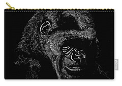 Silverback Carry-all Pouch by Lawrence Tripoli