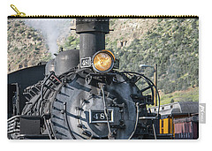 Carry-all Pouch featuring the photograph Silverton Bound by Colleen Coccia