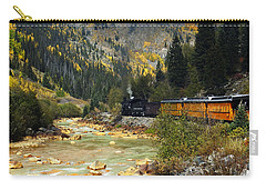 Carry-all Pouch featuring the photograph Silverton Bound by Kurt Van Wagner
