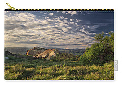 Simi Valley Overlook Carry-all Pouch by Endre Balogh