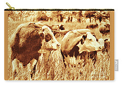 Simmental Bull 3 Carry-all Pouch