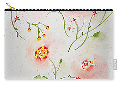 Simple Flowers #2 Carry-all Pouch