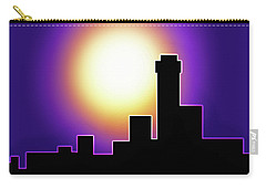 Simple Skyline Silhouette Carry-all Pouch