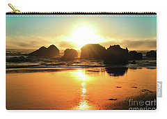 Simple Sunset Carry-all Pouch