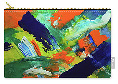Carry-all Pouch featuring the painting Simple Things by Everette McMahan jr
