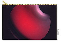 Carry-all Pouch featuring the digital art Simplicity 12-2 by John Krakora
