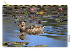 Simplicity In Nature Carry-all Pouch by Lynn Hopwood