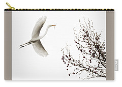 Carry-all Pouch featuring the photograph Simplicity by Melinda Hughes-Berland