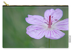 Carry-all Pouch featuring the photograph Simplicity Of A Flower by Amee Cave