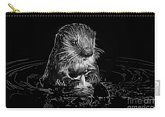 Simply Otter Carry-all Pouch by Alice Cahill
