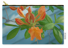 Carry-all Pouch featuring the photograph Simply Soft Budding Azalea by Aimee L Maher Photography and Art Visit ALMGallerydotcom