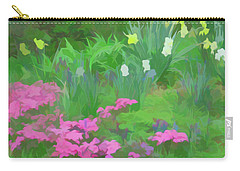 Carry-all Pouch featuring the photograph Simply Soft Garden Escape by Aimee L Maher Photography and Art Visit ALMGallerydotcom