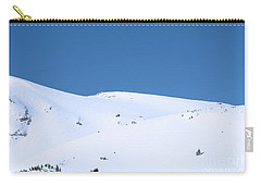 Carry-all Pouch featuring the photograph Simply Winter by Juli Scalzi