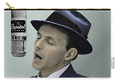 Sinatra - Color Carry-all Pouch by Paul Tagliamonte