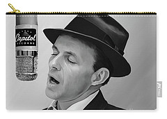 Sinatra Carry-all Pouch by Paul Tagliamonte