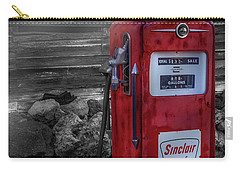 Carry-all Pouch featuring the photograph Sinclair Gas Pump Sc by Susan Candelario