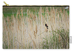 Carry-all Pouch featuring the photograph Sing For Spring by Bill Wakeley