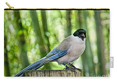 Carry-all Pouch featuring the photograph Sing Out Loud by Judy Kay