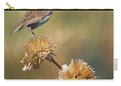 Singing Meadowlark Carry-all Pouch by Priscilla Burgers