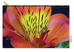 Single Alstroemeria Inca Flower-1 Carry-all Pouch