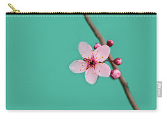 Single Cherry Blossom Carry-all Pouch